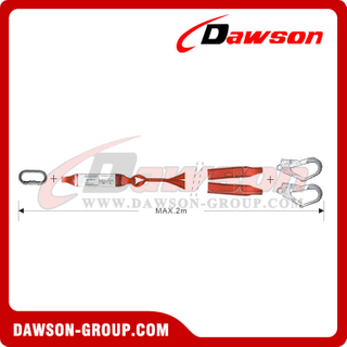 DS6106 Energy Absorbers Webbing Lanyards EN355 EN354