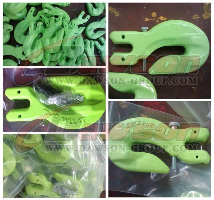 DS1024 G100 Special Clevis Grab Hook With Safety Pin - Dawson Group Ltd. - China Manufacturer, Supplier, Factory