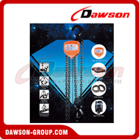 DSVS-B 0.25T - 30T Chain Block, Chain Pulley Block for Lifting
