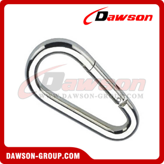 Egg Shaped Snap Hook DIN5299B with Zinc Plated