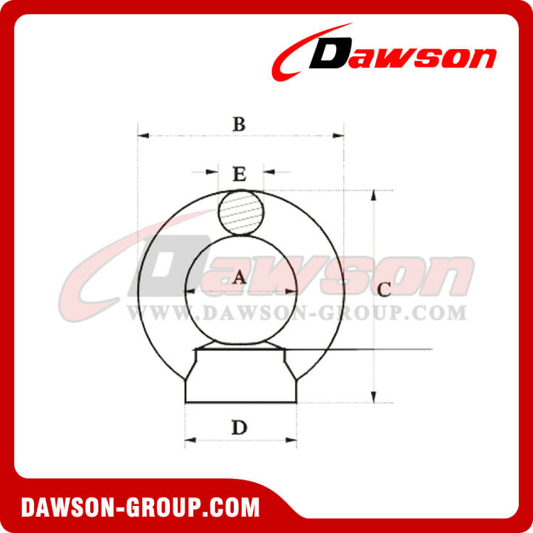 Stainless Steel DIN 582 Eye Nut