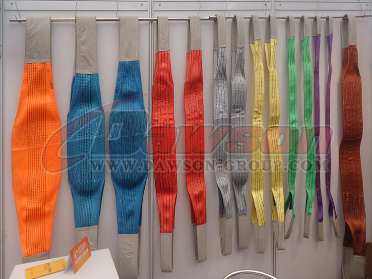 WLL 12 Ton Polyester Webbing Slings - Lifting Slings - Dawson Group Ltd. - China Manufacturer, Supplier, Factory
