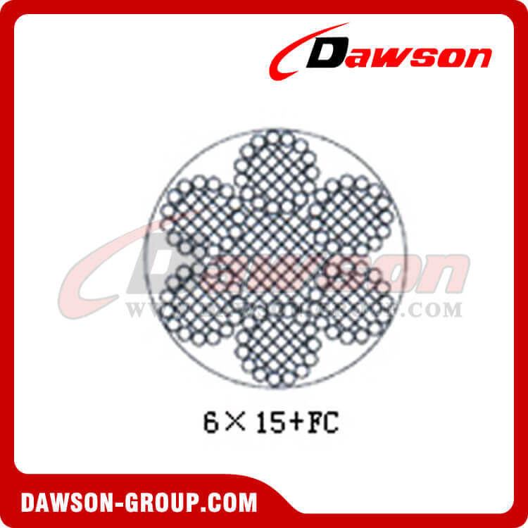 Steel Wire Rope Construction(6×15+FC) - China Manufacturer Supplier