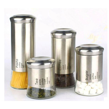 Glass Coffee Canister