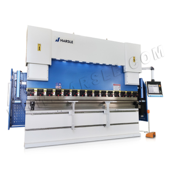 WE67K-200T/3200 Hydraulic Press Brake with DA-66T 3D graphic bending simulation, 6+1 Axis CNC bending machine