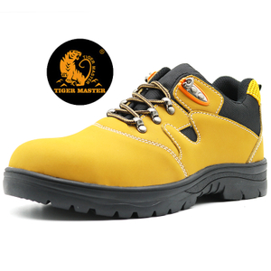 Oil Acid Proof Puncture Resistant Men Work Shoes Steel Toe