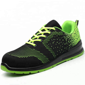 Low Ankle Breathable Non Metallic Composite Toe Safety Shoes Men Work