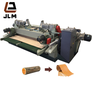 Automatic Log Cutting and Peeling Machine