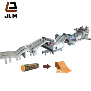 4/8 Feet Wood Veneer Cutting Machine/ Rotary Peeler/ Core Veneer Peeling Line