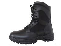 Quick eyelets system police tactical boots