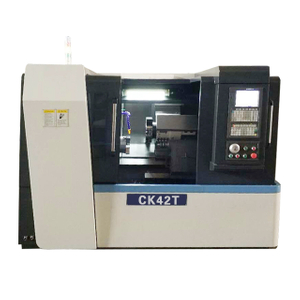 "CK42T CNC Lathe With 8 Positions Toolpost & 2 1/2"" Bore"