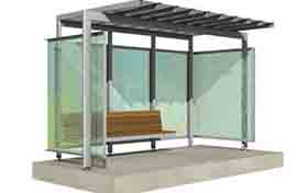 Creative Advertising Bus Shelter Design - Adhaiwell