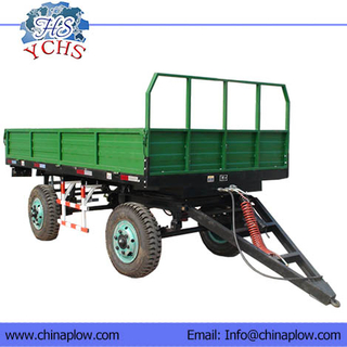 Four Wheels Dumping Trailers