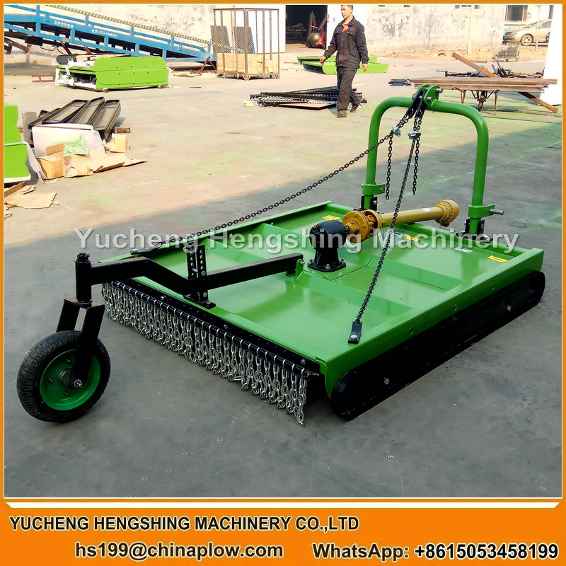 Farm tractor rotary mower rear mounted mower bush cutter