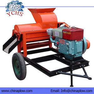 Heavy Corn Thresher With Diesel
