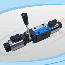 YJ4WE Series Solenoid Operated Directional Control Valves with Manual Control Lever