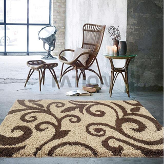 Popular Bedroom Shag Collection Rug Fluffy Carpet