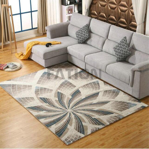 5'×8' Non-slip Machine Tufted Polypropylene Rug
