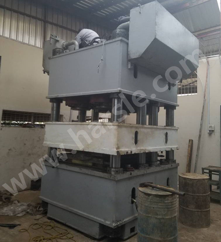 2000Ton Steel Door Embossing Machine Was Installed In Nigeria