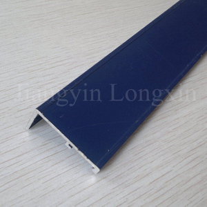 Blue Powder Coated Aluminium Profile for Decoration