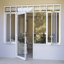 white powder coated Aluminium Profile for Casement Door