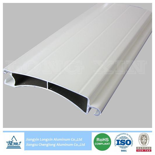 White Coated Aluminum Extrusion for Roller Shutter