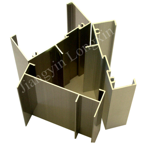 Champagne Electrophoresis Aluminium Profile for Windows