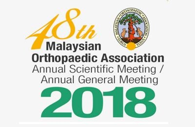 Welcome to visit custom in Booth No B11 off 48th Malaysian OrthopedicAssociation Annual Scientific Meeting/Annual General Meeting 2018Full Conference Dates: 10th to 12th May 2018Booth No: B11