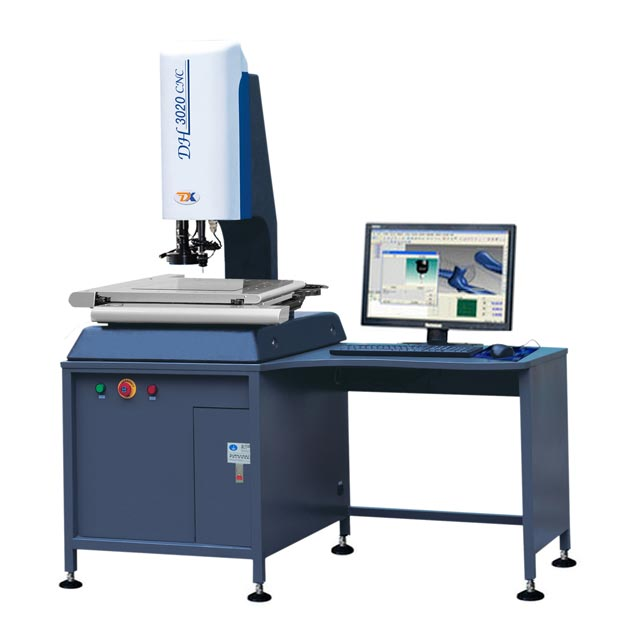 Automatic Measurement of Detailed Shape System