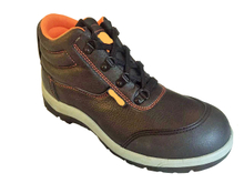 TPU reinforced toe PU artificial leather PVC injection safety shoes