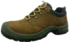 Nubuck safety shoes
