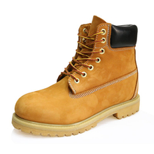 TB001 nubuck leather fashion timberland safety work boots