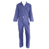 M1101 Royal blue cheap safety coveralls