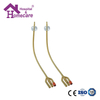 HK06a Latex Foley Catheter Silicone Coated 3-way Standard