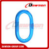 DS1013 G100 Forged Master Link with Flat for Crane Lifting Chain Slings