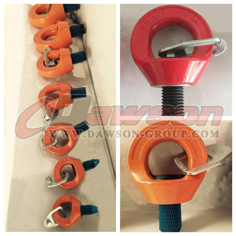 Grade 80 Swivel Hoist Ring Eye Type