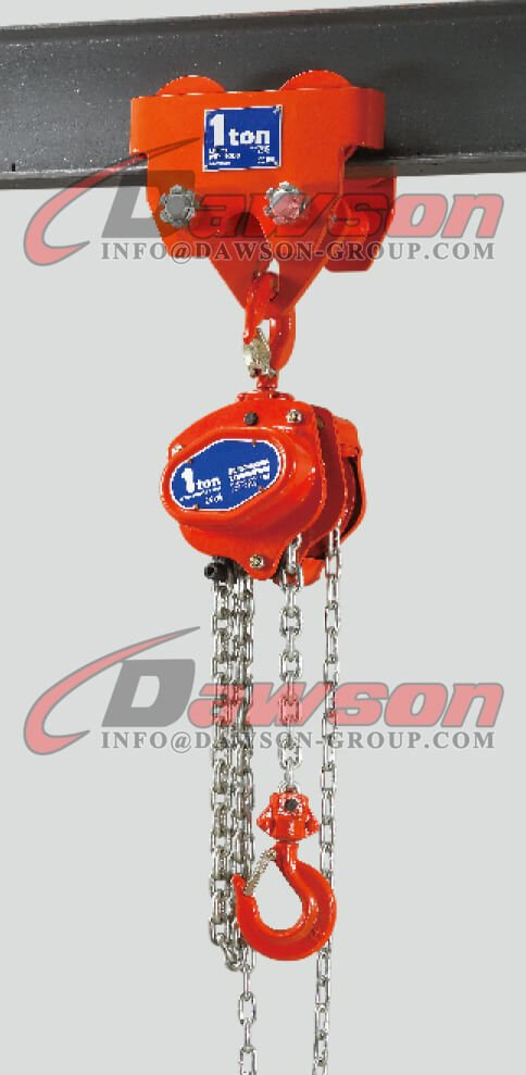 Application of 1 Ton Plain Push Trolley for Hoist - Dawson Group Ltd. - China Manufacturer