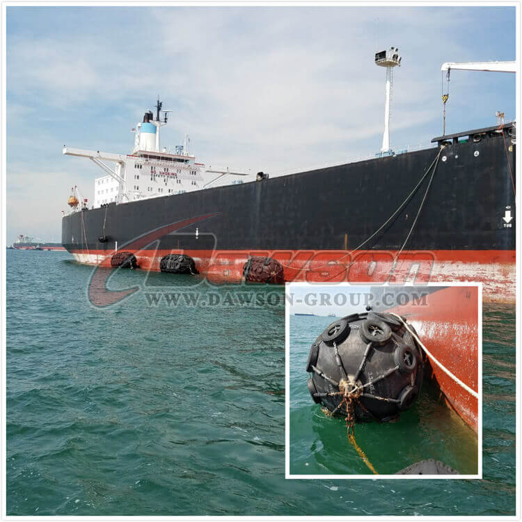 Application of Pneumatic Marine Yokohama Type Rubber Fender - China Supplier