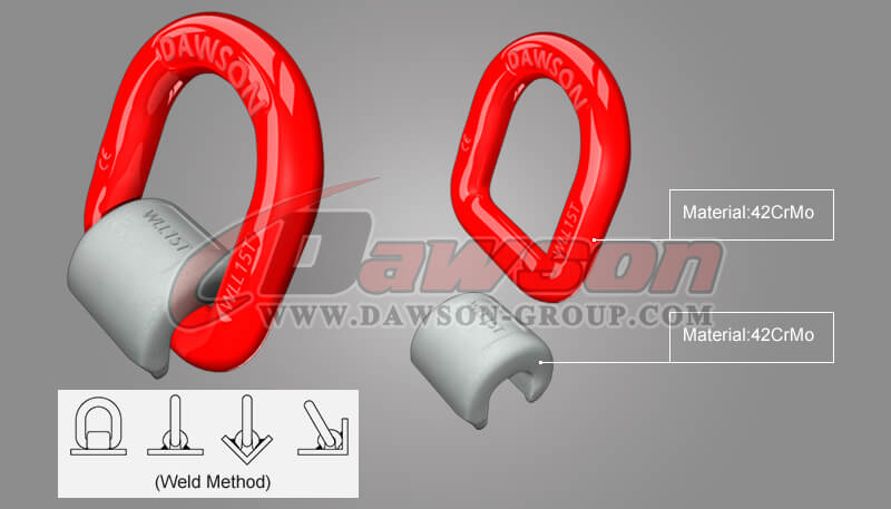 G80 Weld-on Pivoting D Link - Dawson Group Ltd. - China Supplier