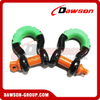 Dawson Drop Forged Bow Shackle with PU Protection for Towing & Recovery Strap
