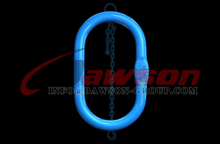 G100 Forged Master Link for Wire Rope Lifting Slings - Dawson Group Ltd. - China Manufacturer