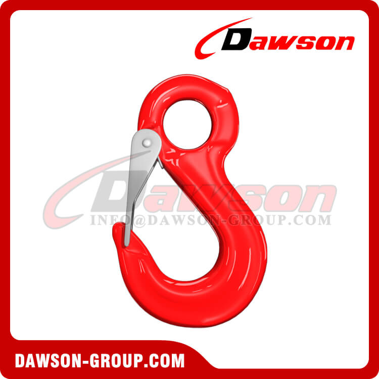 G80 Forged Eye Sling Hook with Cast Latch, Grade 80 Forged Eye Hook - Dawson Group Ltd. - China Manufacturer, Supplier