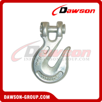 G70 / Grade 70 Forged Alloy Steel Clevis Grab Hook for Lashing