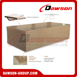 Plastic Faced Plywood / Plywood Manufacturer / Plywood Board For Construction