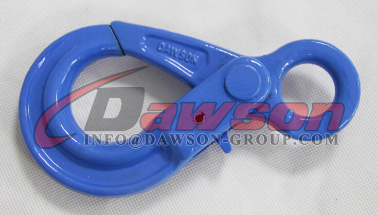 Grade 100 European Type Eye Self-Locking Hook Lifting Equipment for Crane Lifting Chain Slings - Dawson Group Ltd. - China Exporter