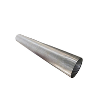 Galvanized interlock flexible hose for exhaust