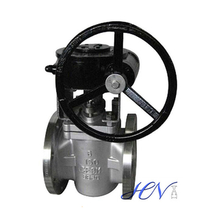 Flanged Stainless Steel Rotary Sleeved Plug Valve