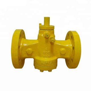 Wrench Operated Flanged Lubricated Plug Valve