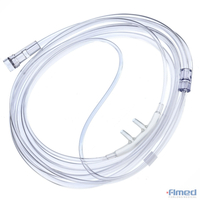 Nasal Cannula with Oxygen Supply Tubing (7 Foot)