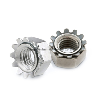 metric stainless steel hex keps lock nut fastenal